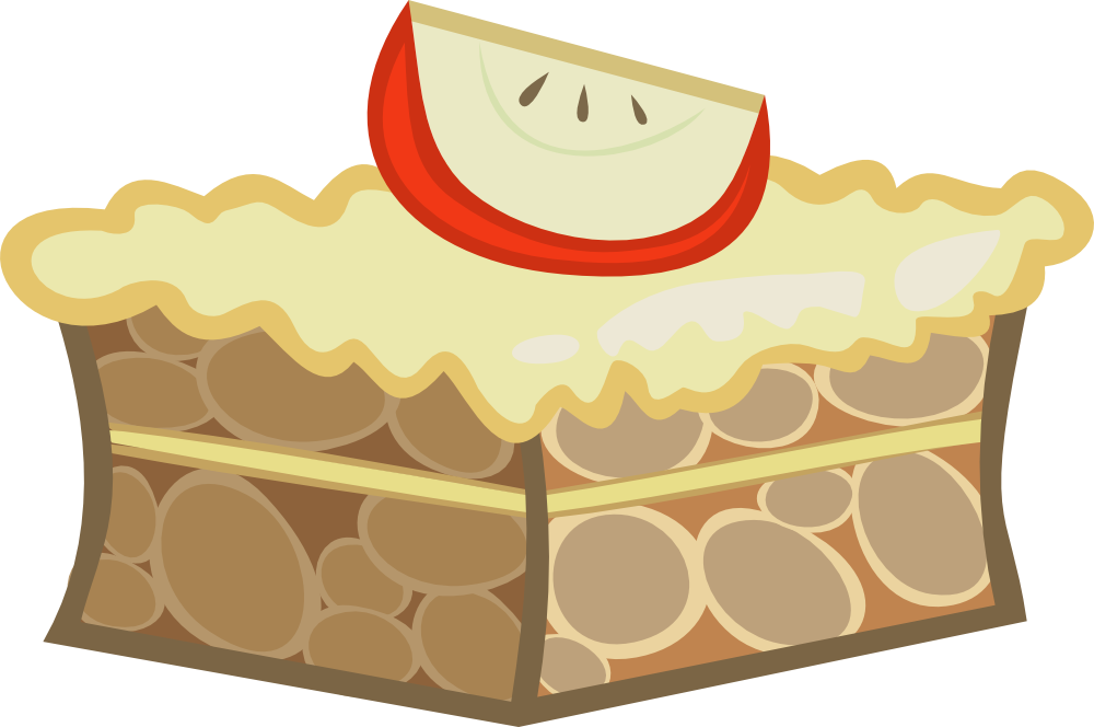 Apple by alaxandir on. Clipart cake tart
