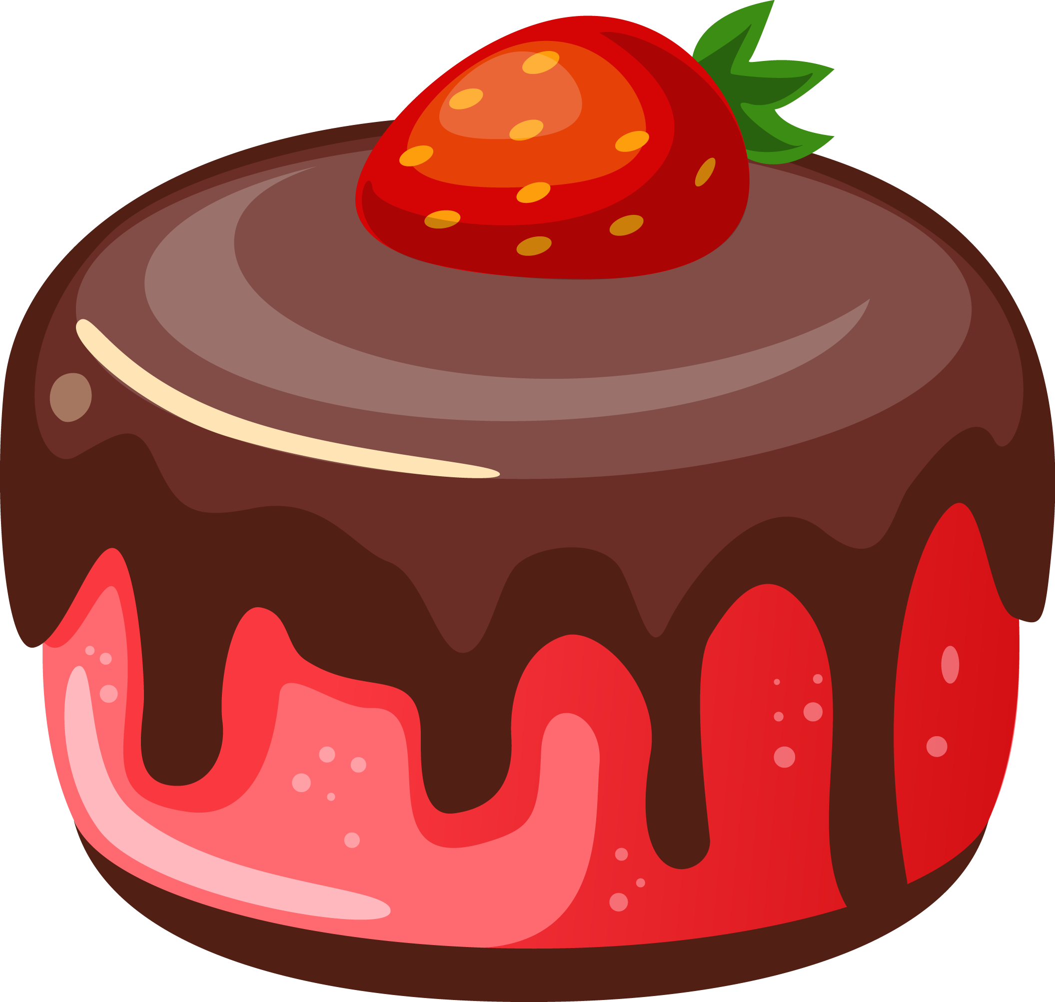 desserts clipart chocolate tart