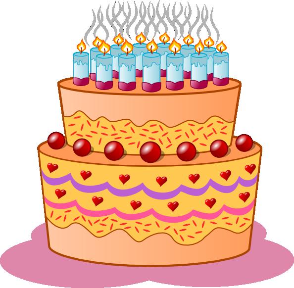 Clipart cake tart. Birthday clip art at