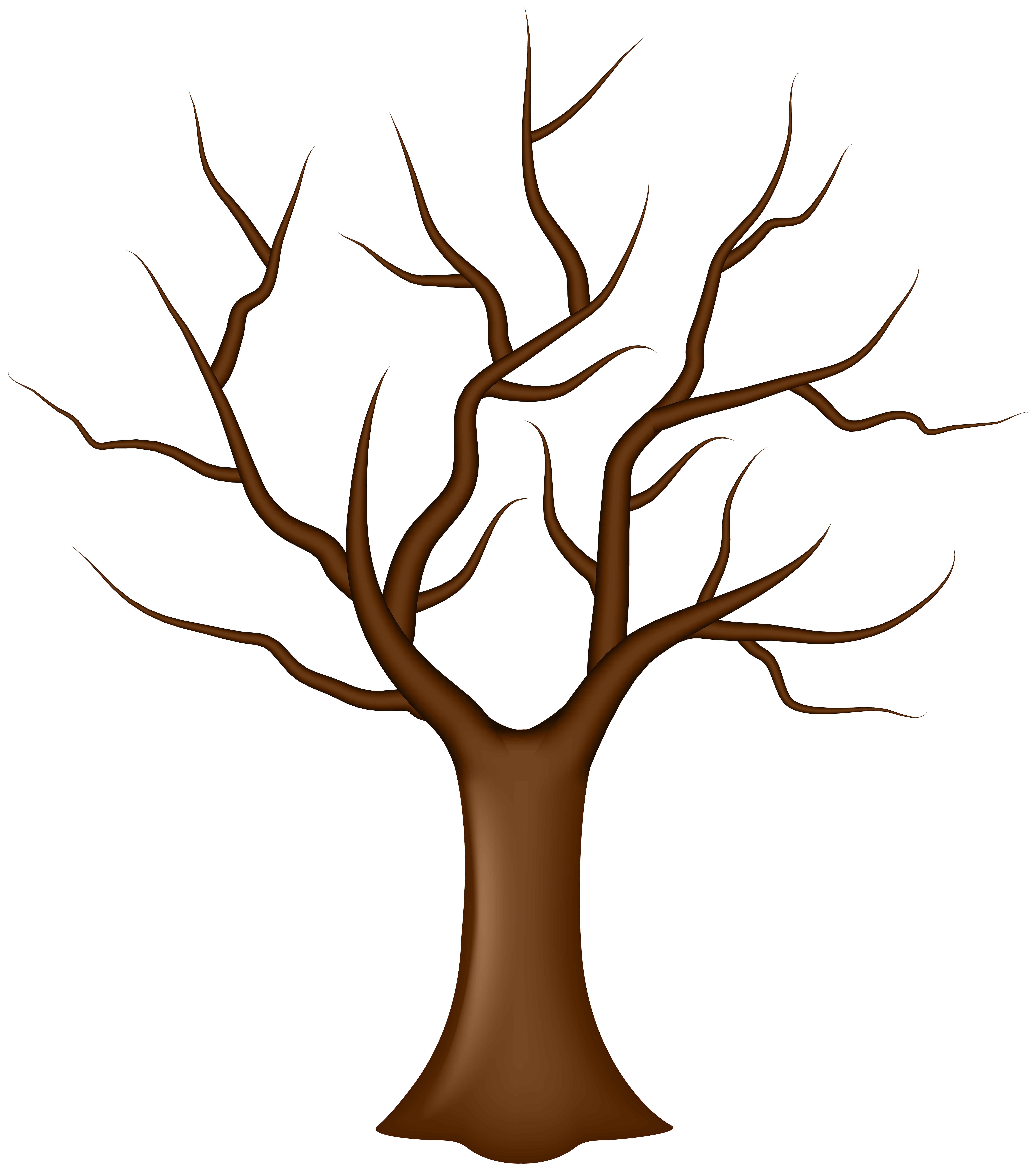 Clipart cake tree. Leaf clip art without
