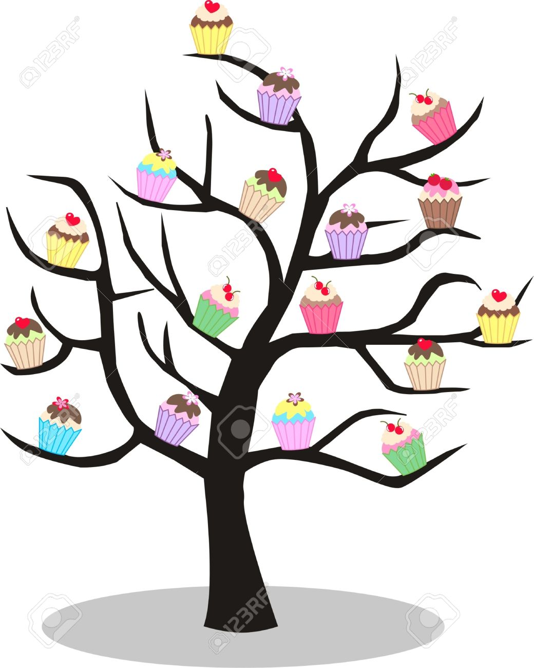 Free cliparts download images. Clipart cake tree
