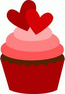 Free valentine cliparts download. Clipart cake valentines