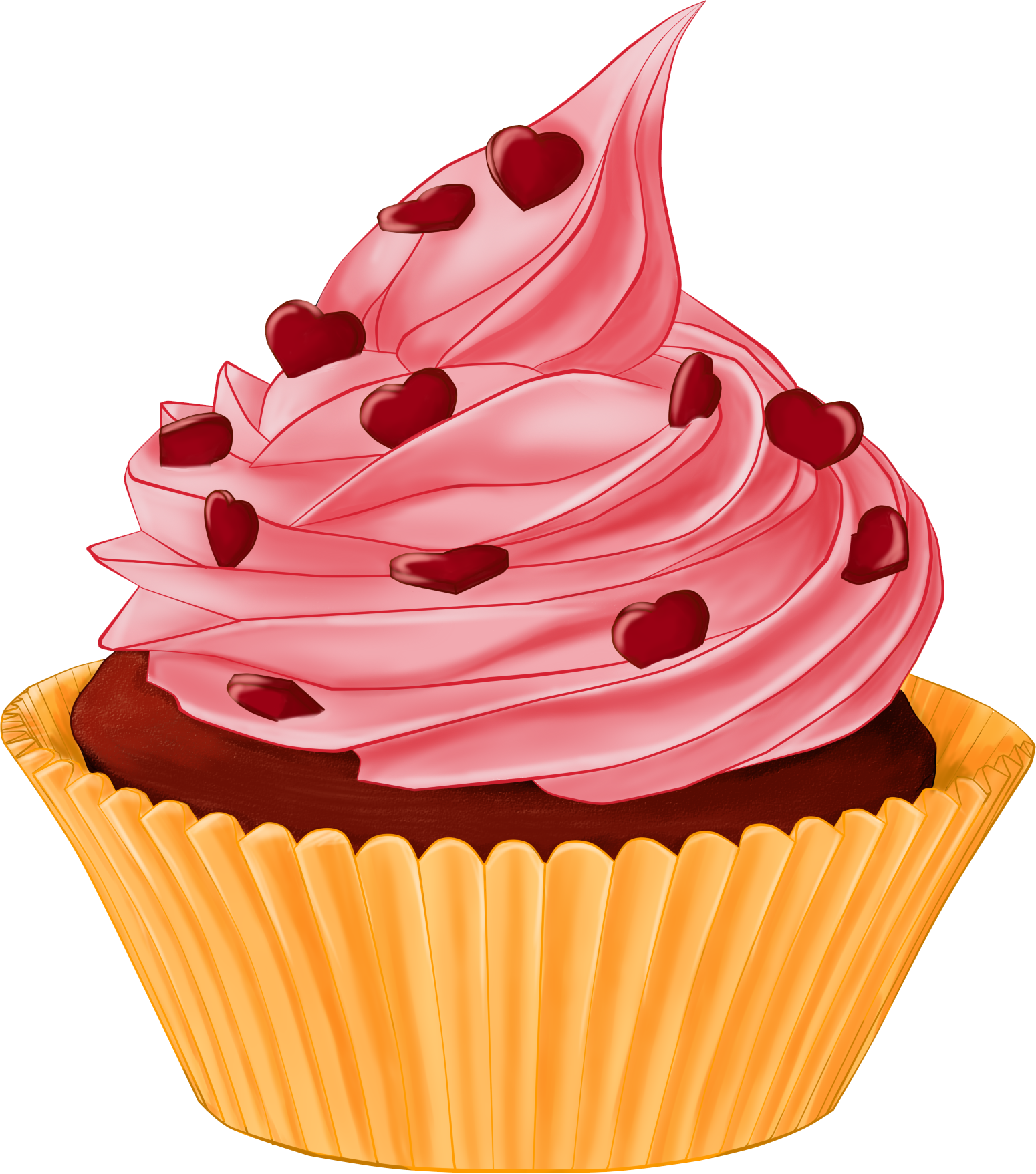 Png cupcakes x sketchbook. Lady clipart cupcake