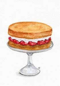 Victoria sponge kind of. Clipart cake victorian