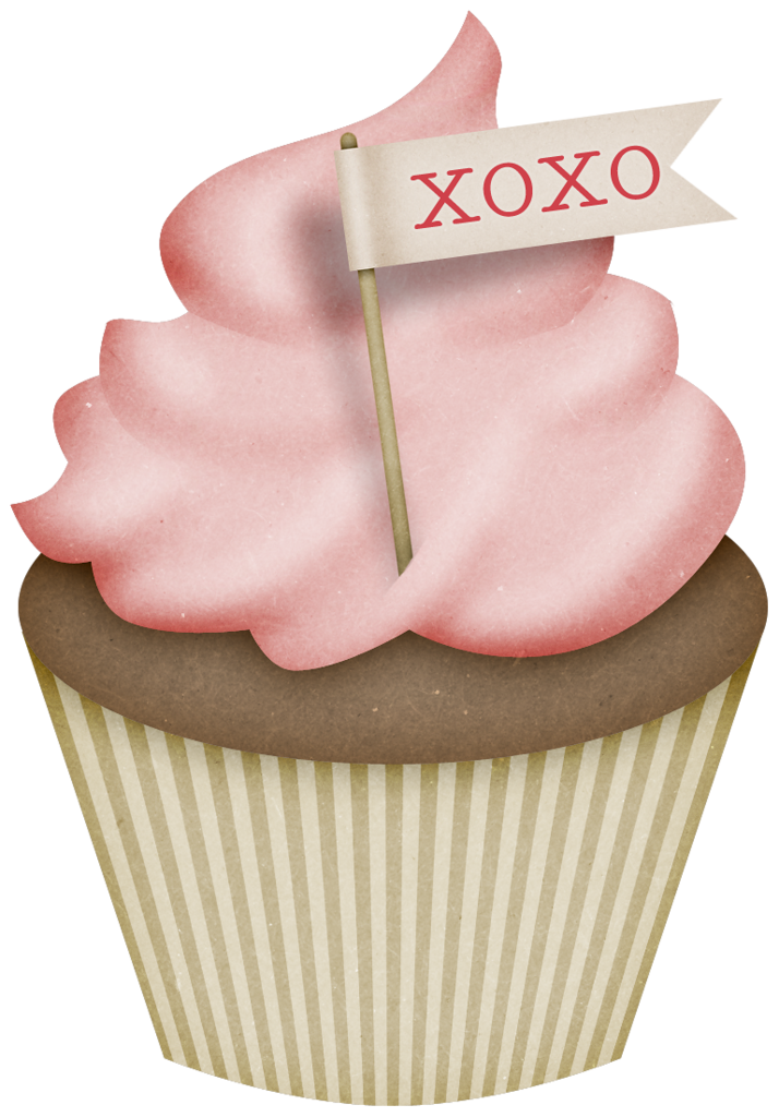 Ch b cupcakes pinterest. Clipart cupcake watercolor