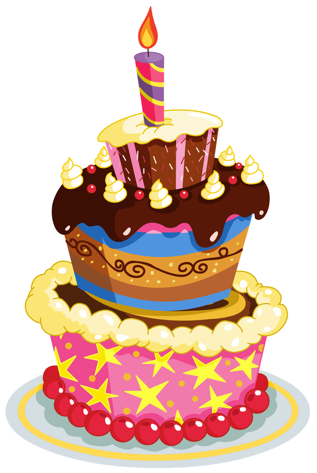 Clipart cat birthday cake. Happy graphics clip art