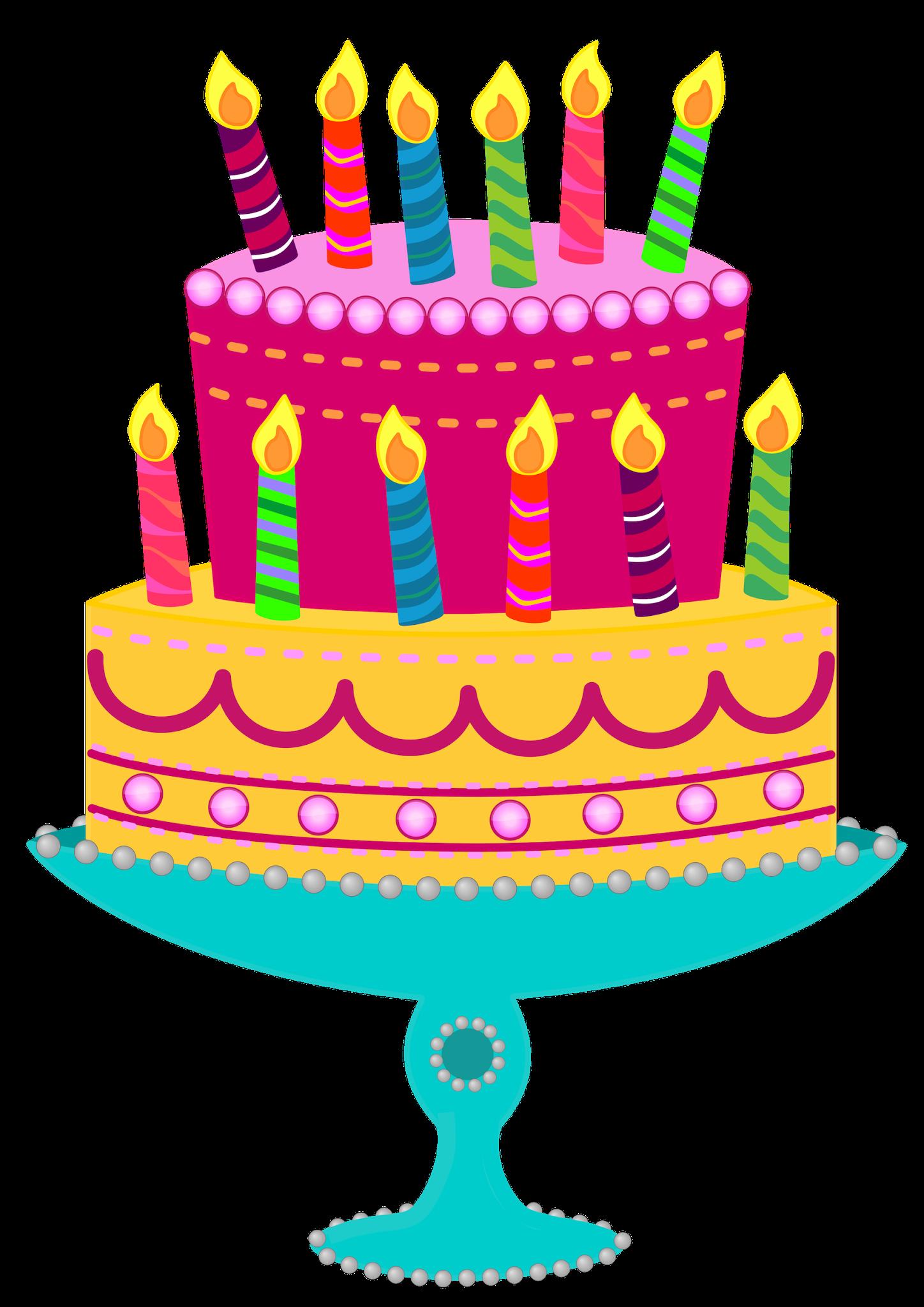 Clipart cake whimsical. Birthday clip art cakes