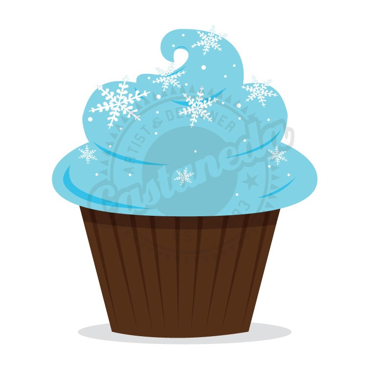 Cupcakes clipart winter. Free desert cliparts download