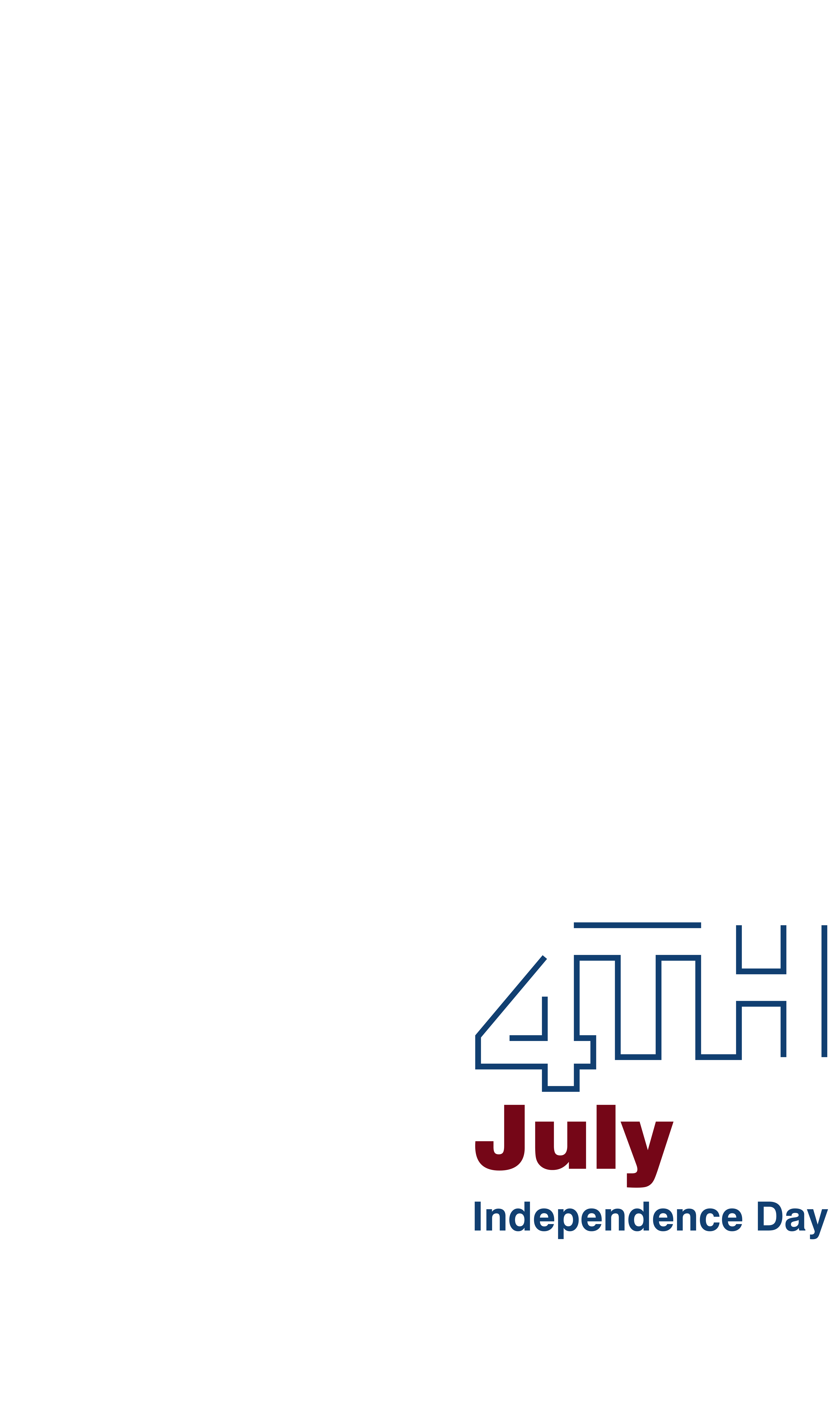 Statue of liberty th. July clipart decoration