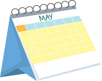 Clipart calendar. Free clip art pictures