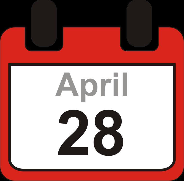 Area text brand png. Clipart calendar april 28th