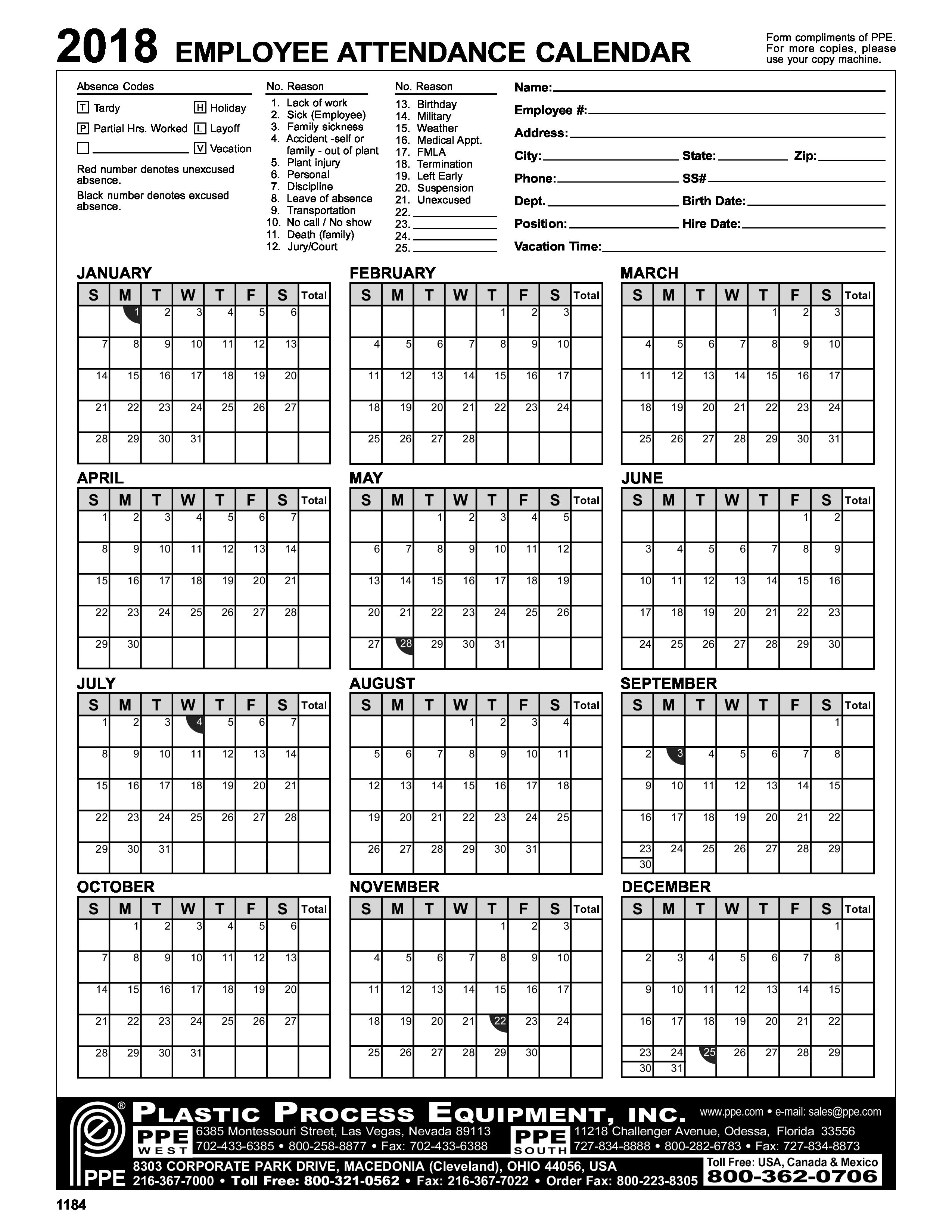 Schedule clipart daily attendance.  employee calendar how