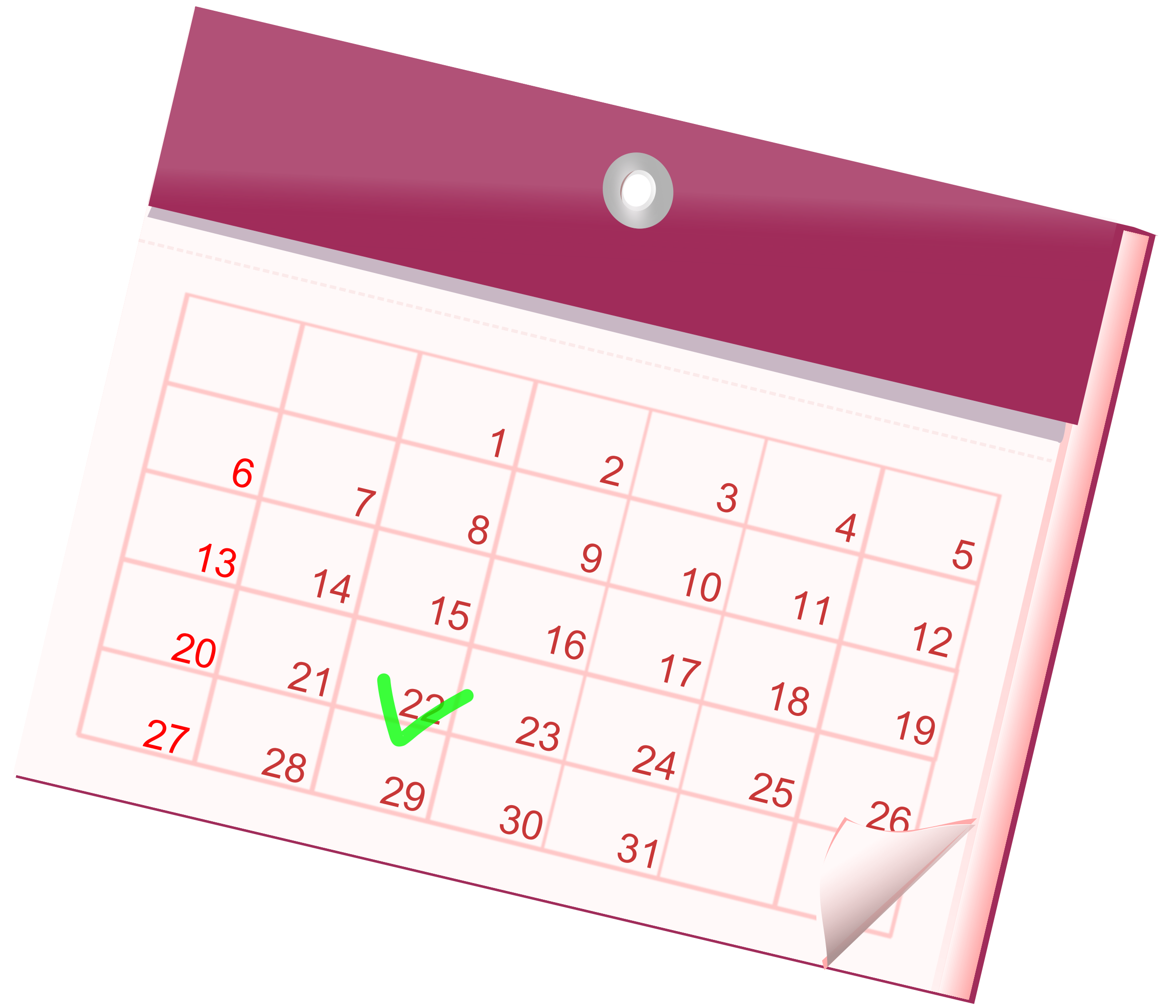 Planning clipart lead time. Calendar big image png