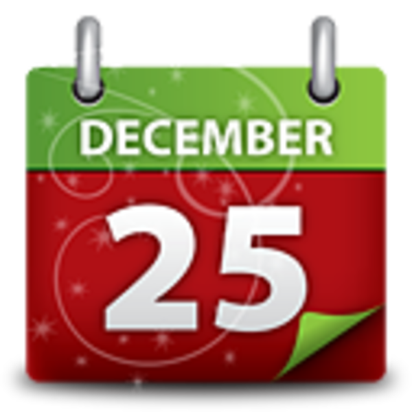 Free images at clker. Clipart calendar christmas