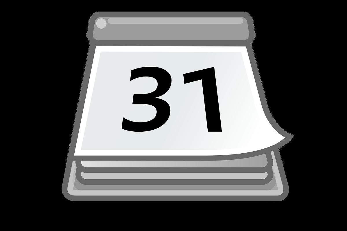 A b logan high. Schedule clipart calendar day