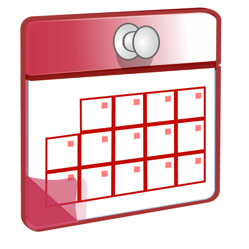 Use a calendar striving. Planner clipart diary dates