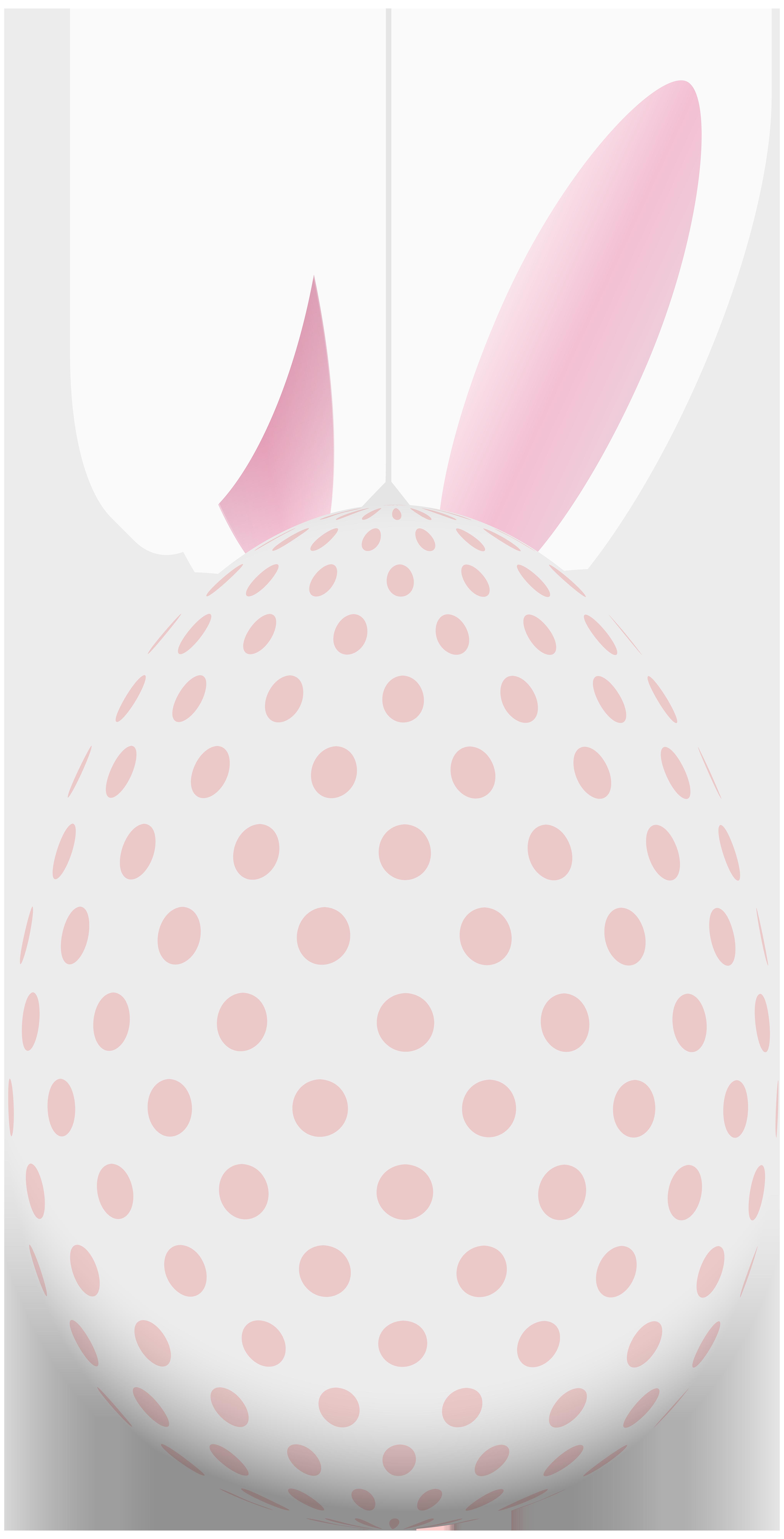 Ear clipart all ear. Easter egg with bunny