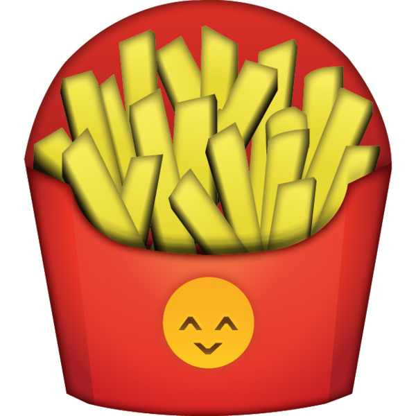 High resolution french fries. Clipart food friend
