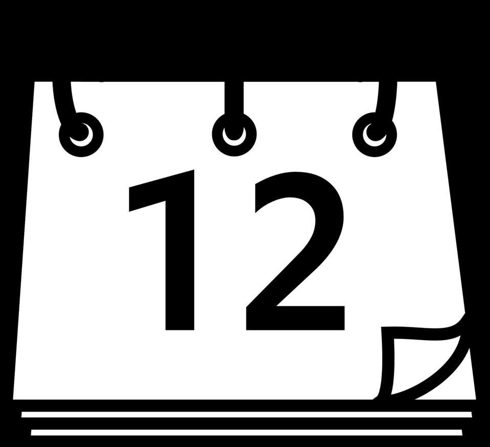 Public domain clip art. Person clipart calendar