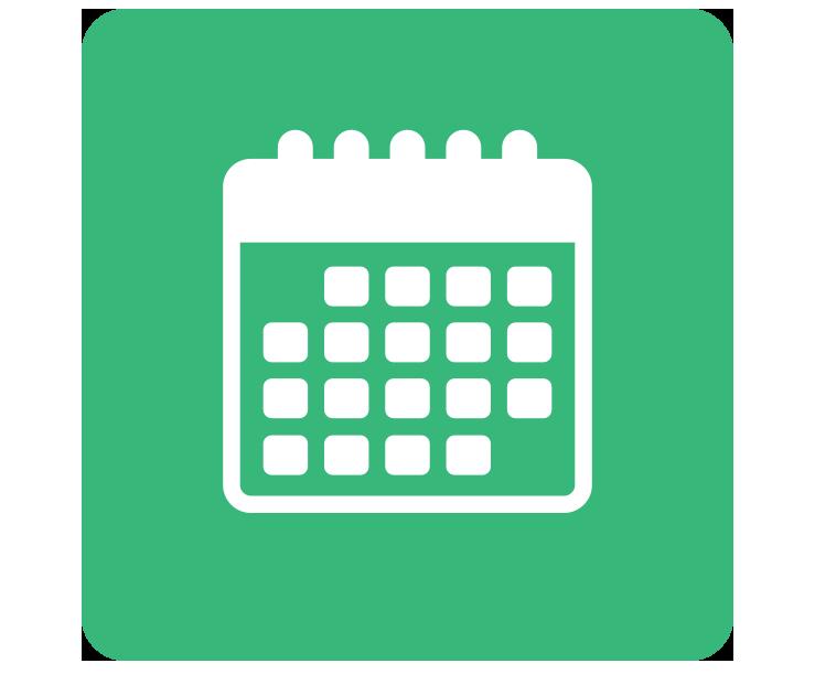 Clipart Calendar Green, Clipart Calendar Green Transparent