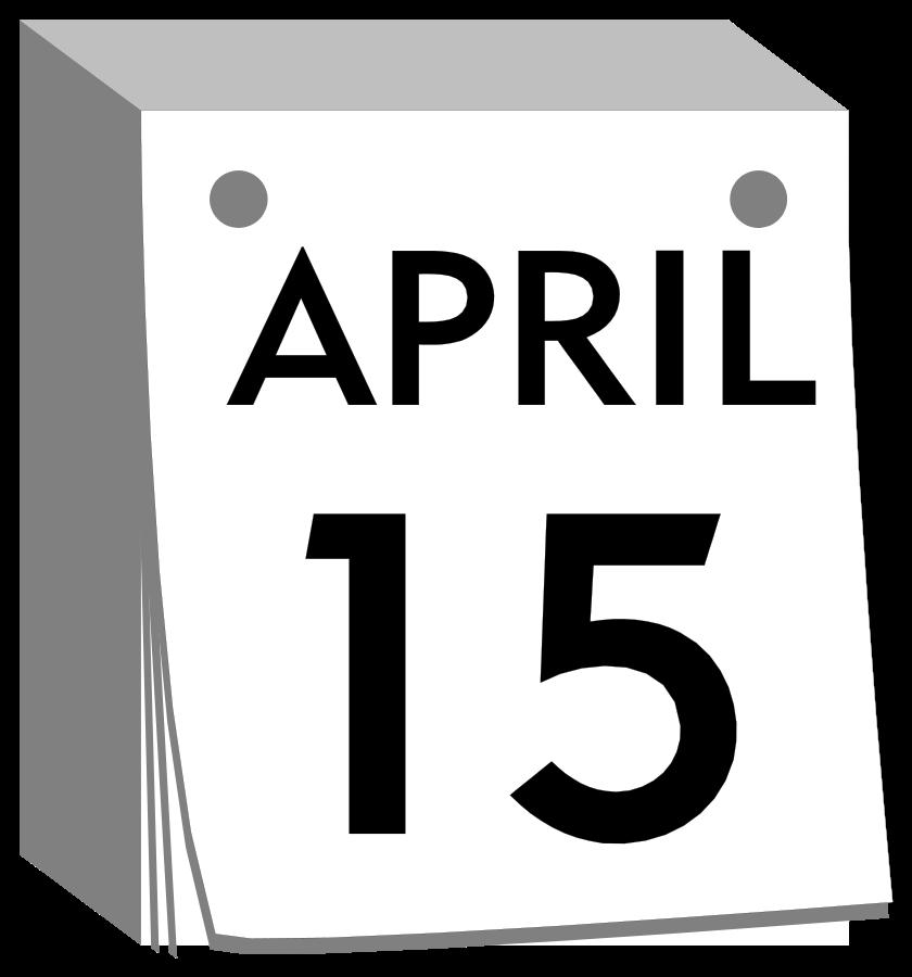 Free date clip art. Schedule clipart calendar day