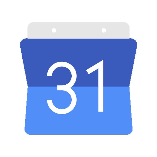 Google clipart logo chrome. Calendar icon template for