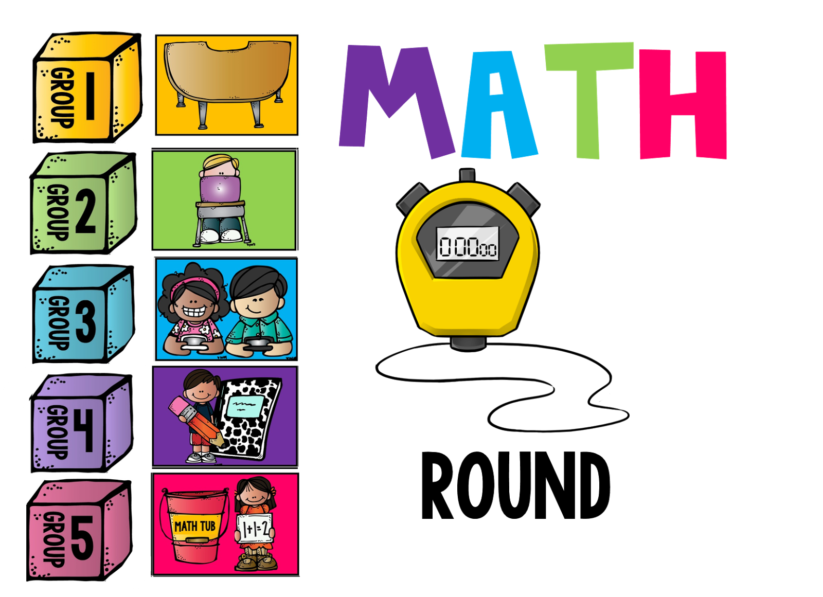 Guided reflecting on the. Clipart calendar math