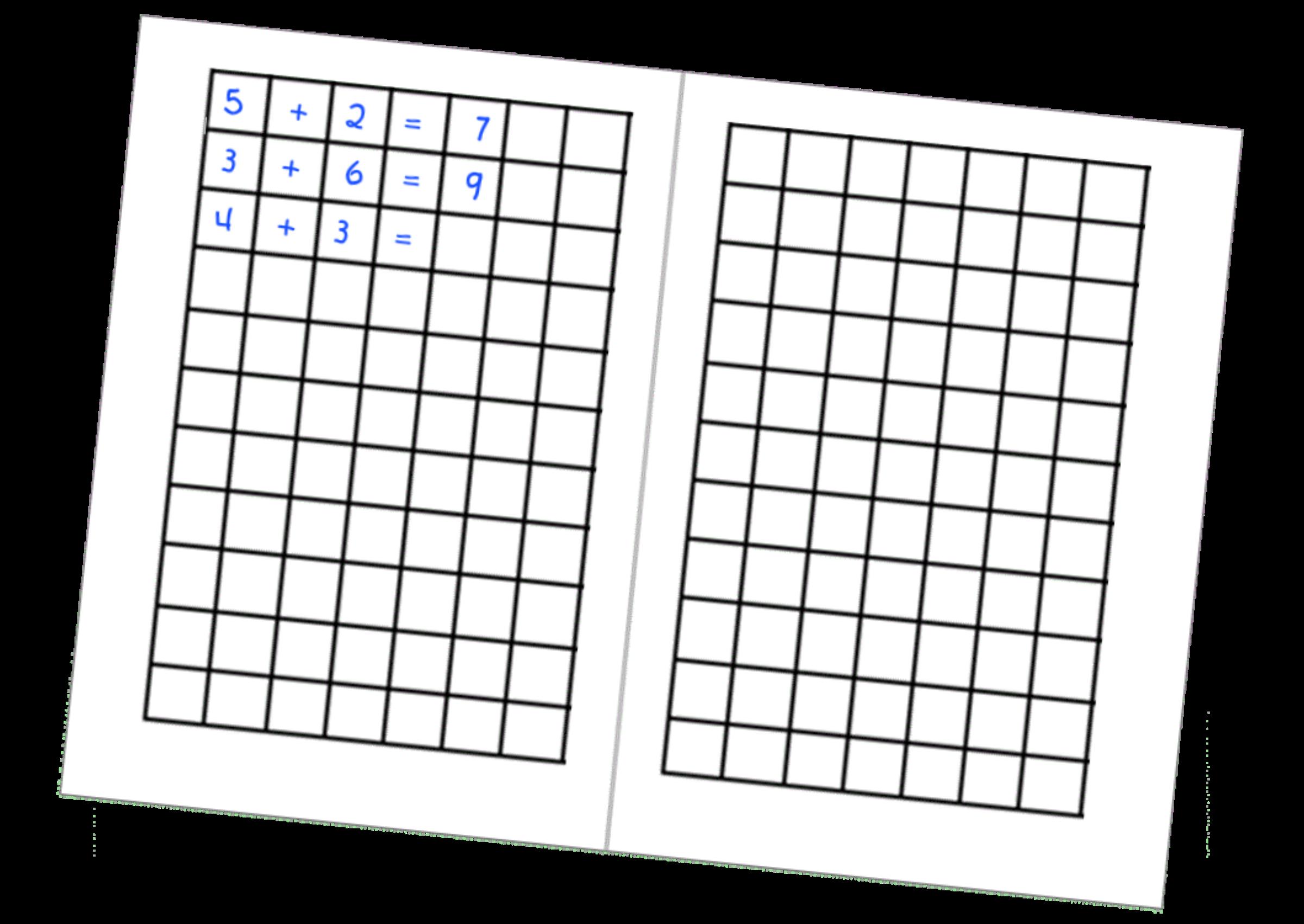 Clipart calendar math. German grid big image