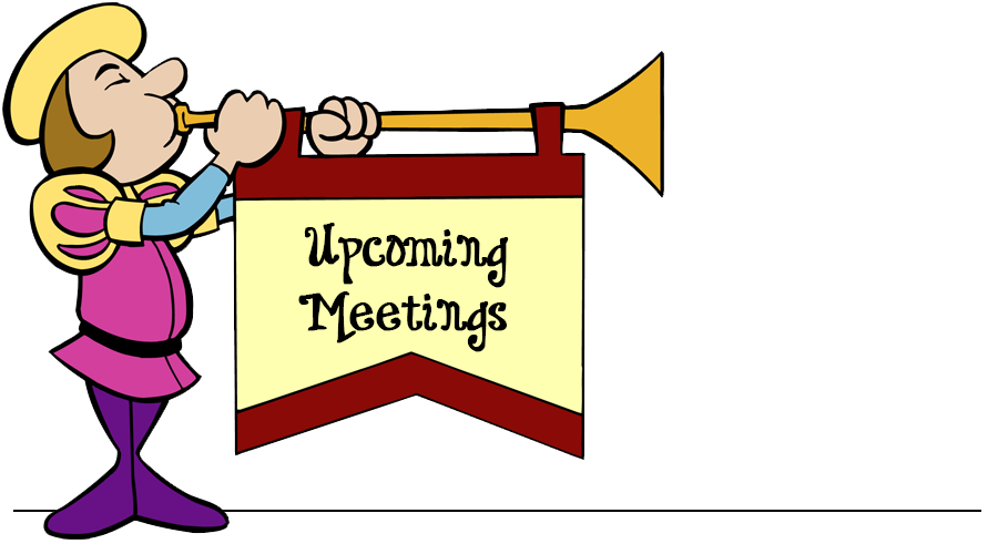 Announcements our savior united. Clipart calendar meeting