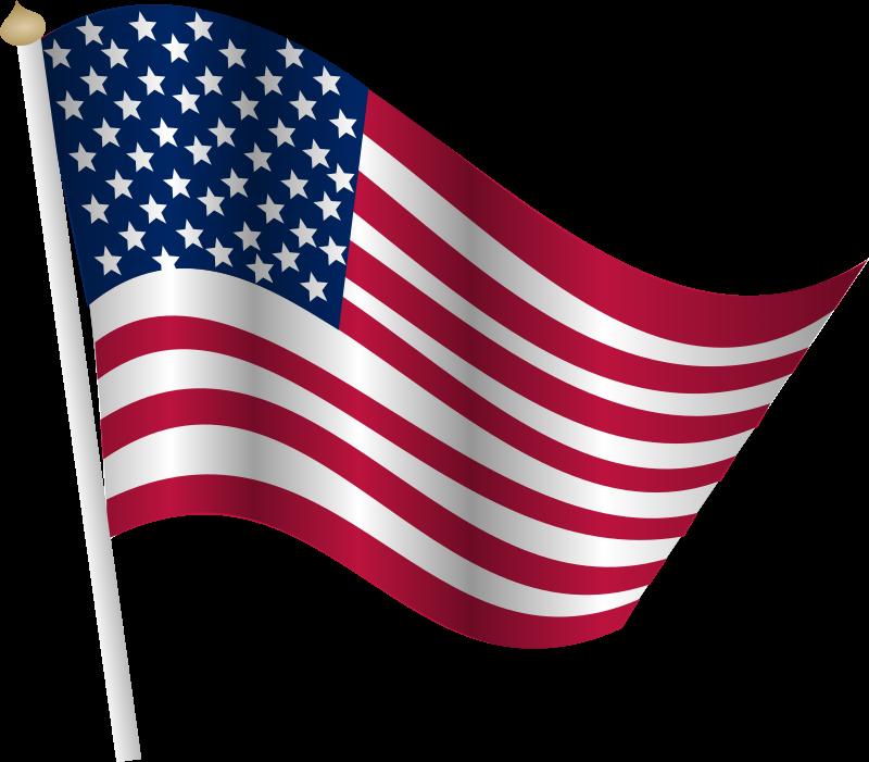 Clipart calendar memorial day. American flag medium image