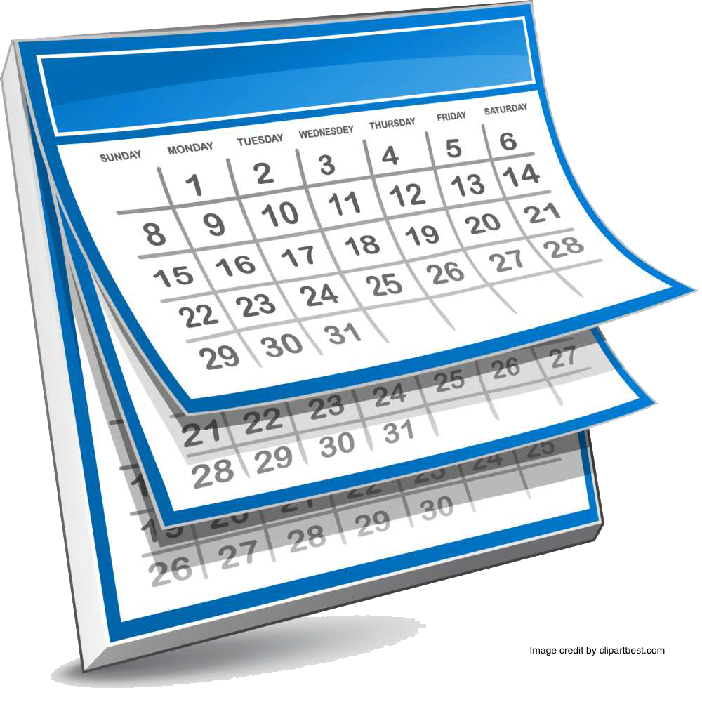 Calendars rincon vista middle. Schedule clipart calendar 2016