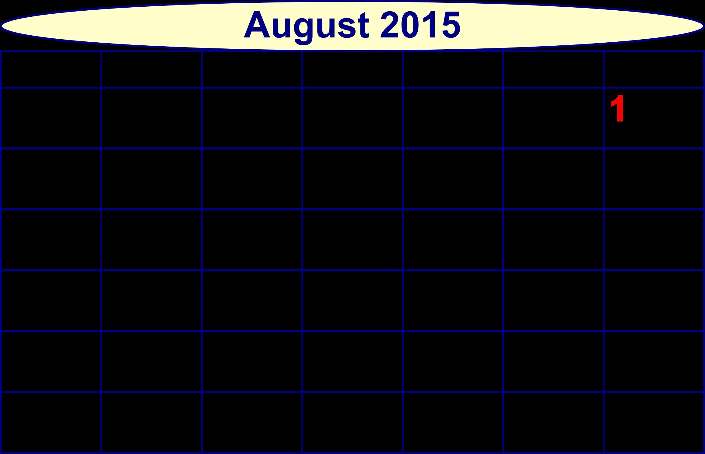 Clipart calendar month. Scripted big image png