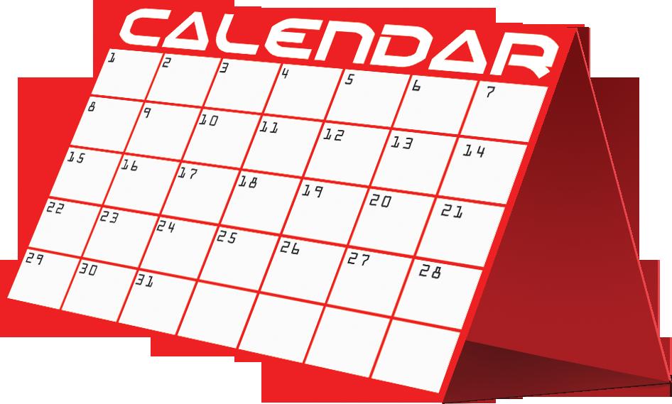 The smarter mover calendarpng. Clipart calendar month