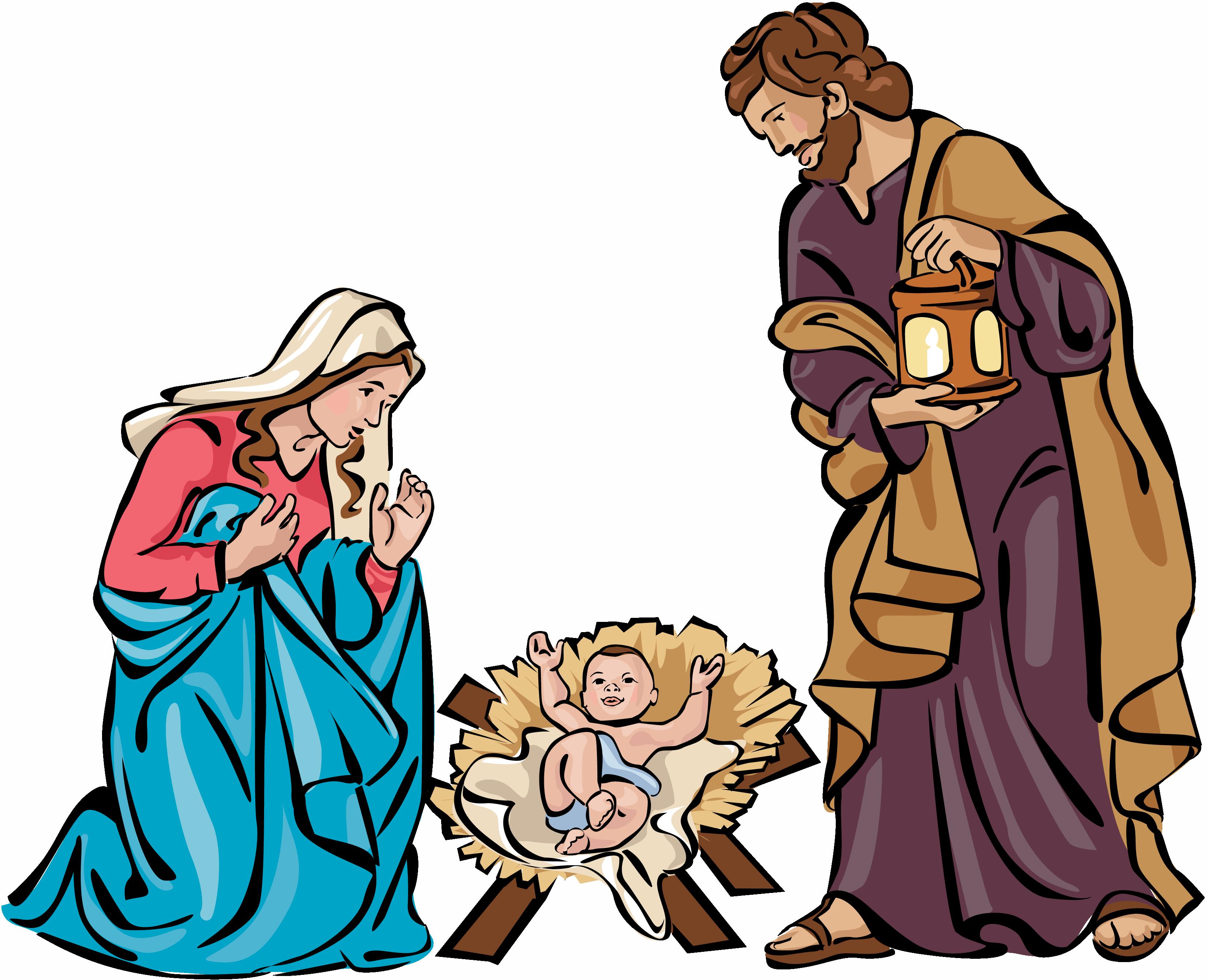 manger clipart christmas belen