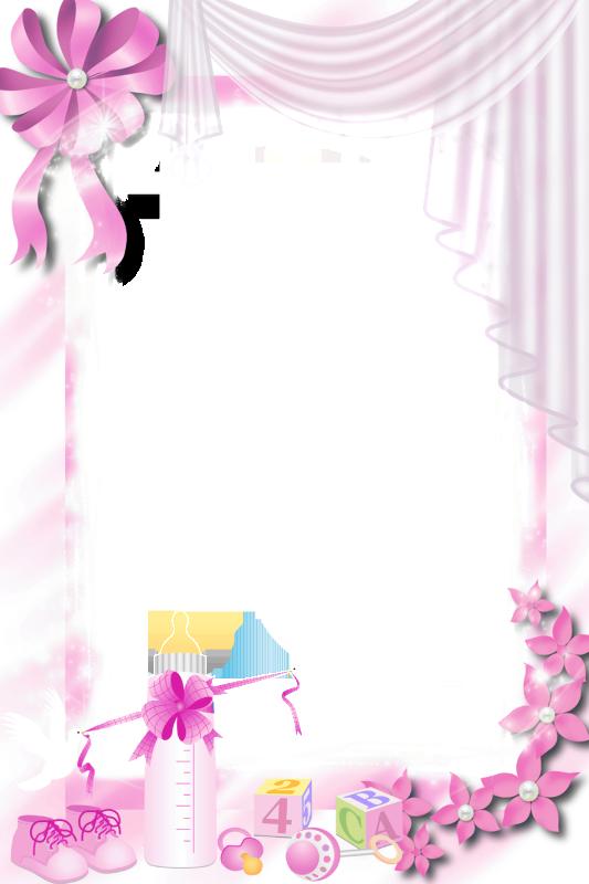 Transparent png baby frame. Clipart calendar pink