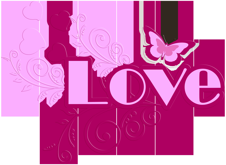 Love transparent clip art. Clipart calendar pink