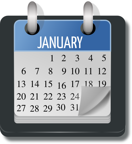 Schedule clipart travel schedule. Monthly calendar acur lunamedia
