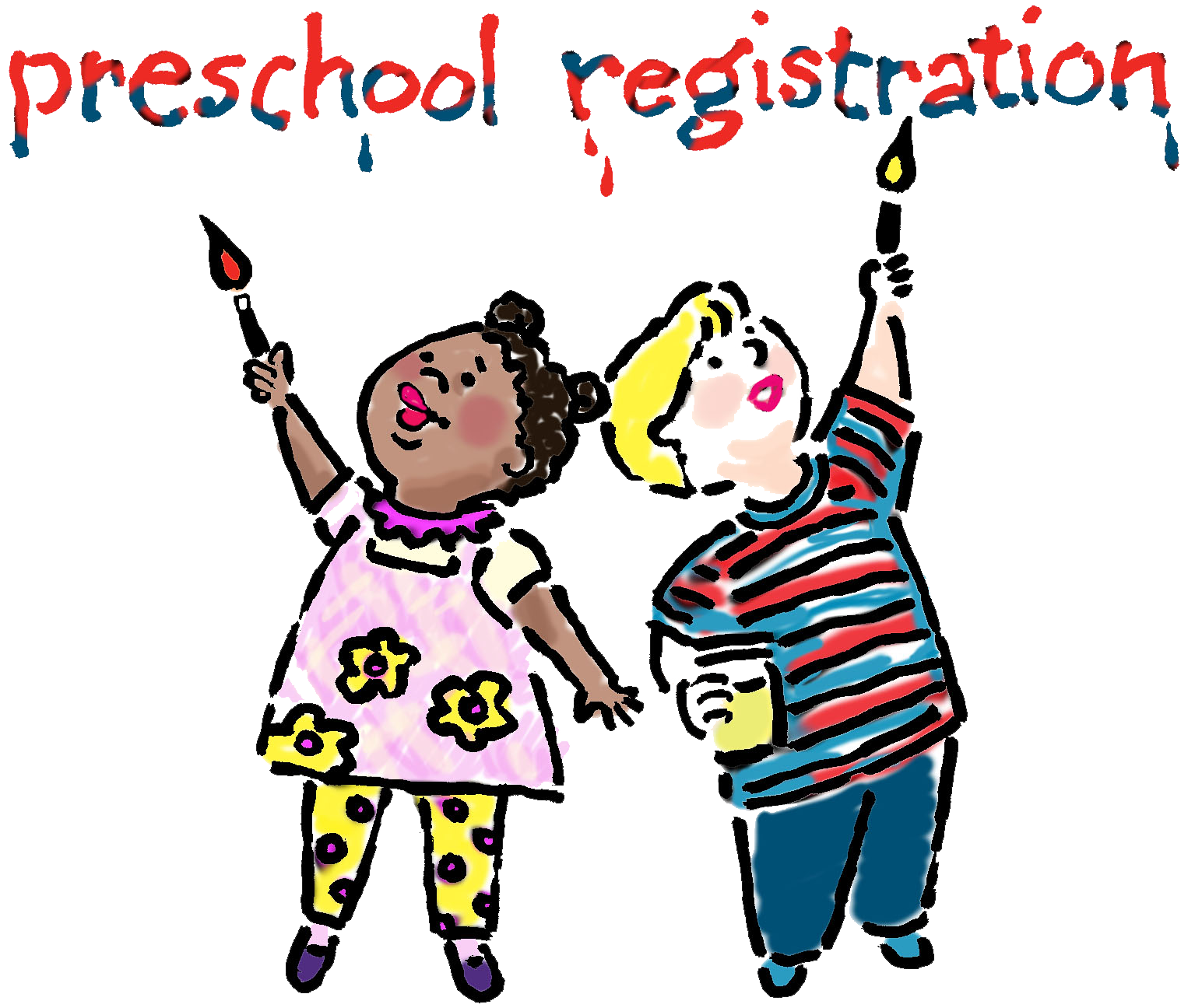 Voting clipart kid. Elc preschool registration early
