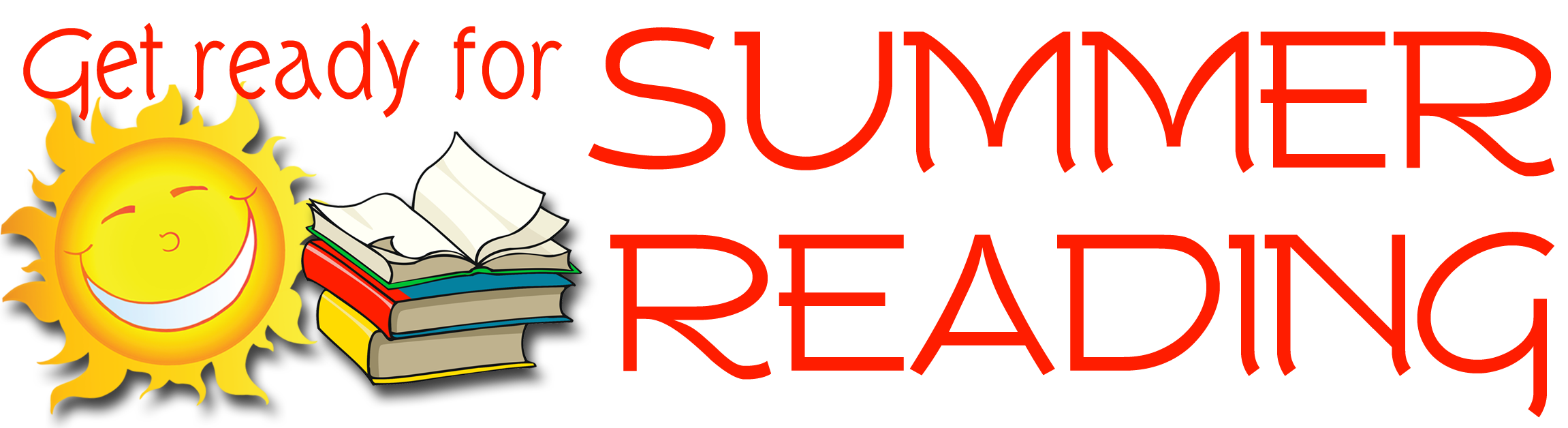 Clipart reading summer. Rush strong school grades