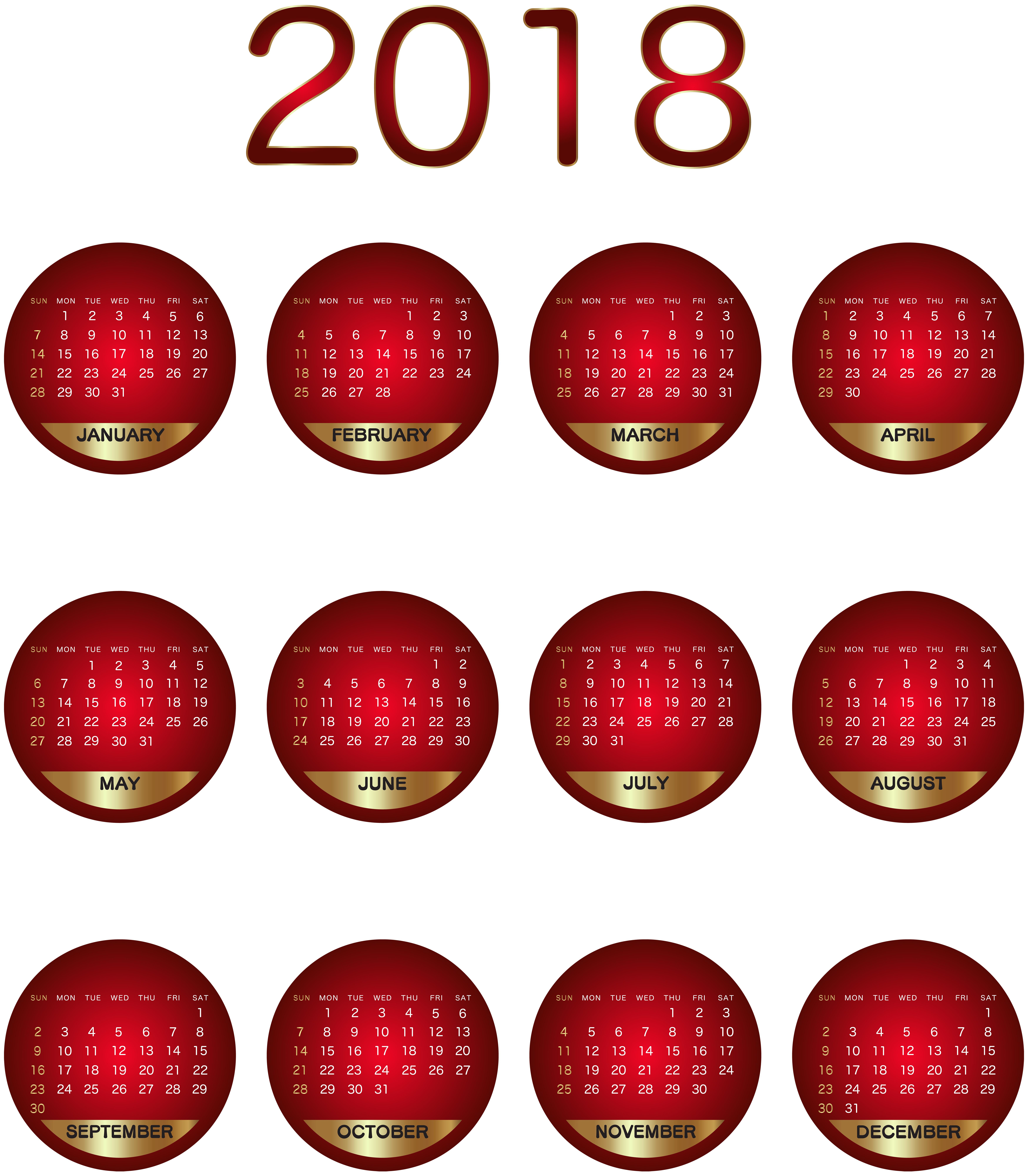 December clipart lighting.  calendar red transparent