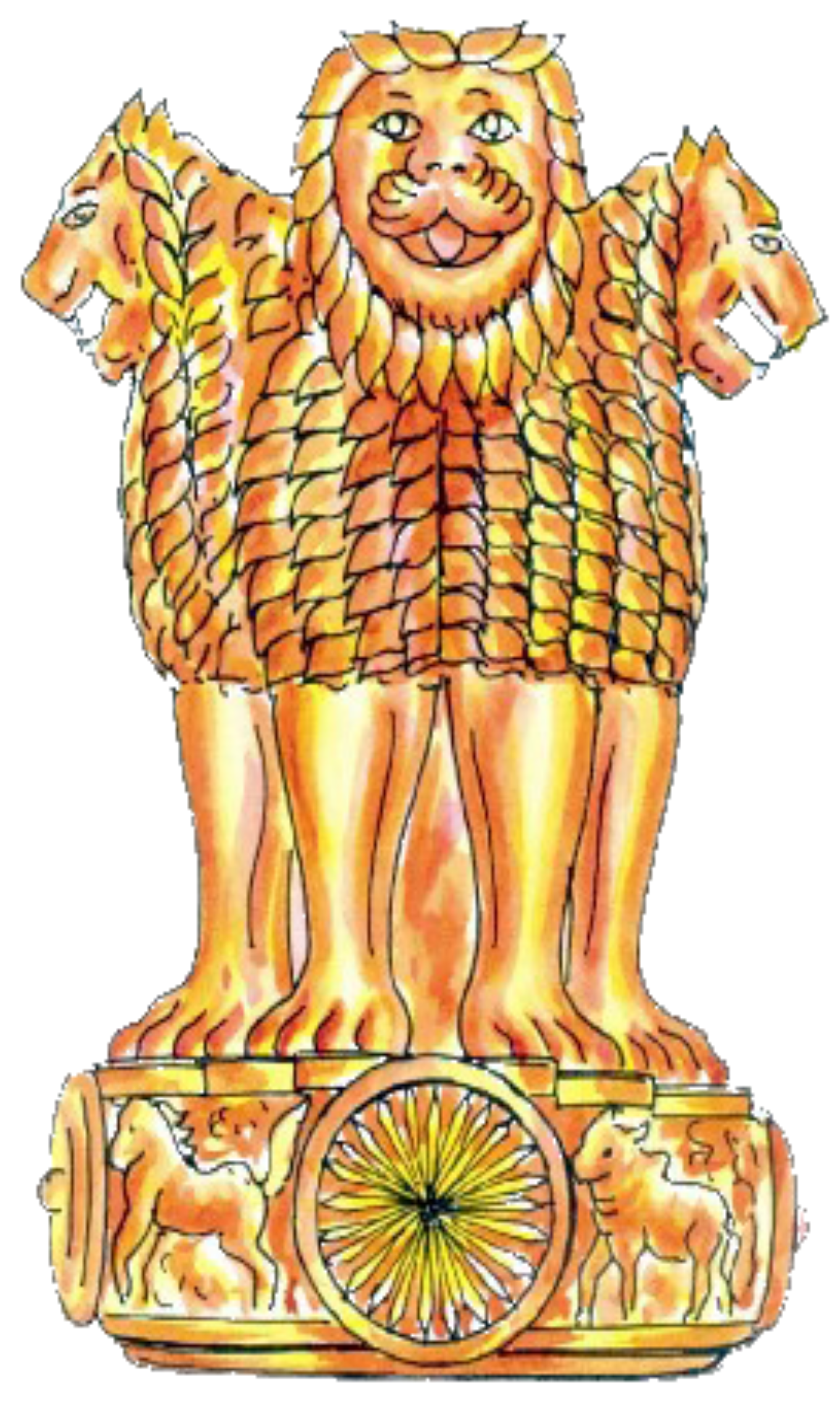 India clipart village. File emblem of sketch