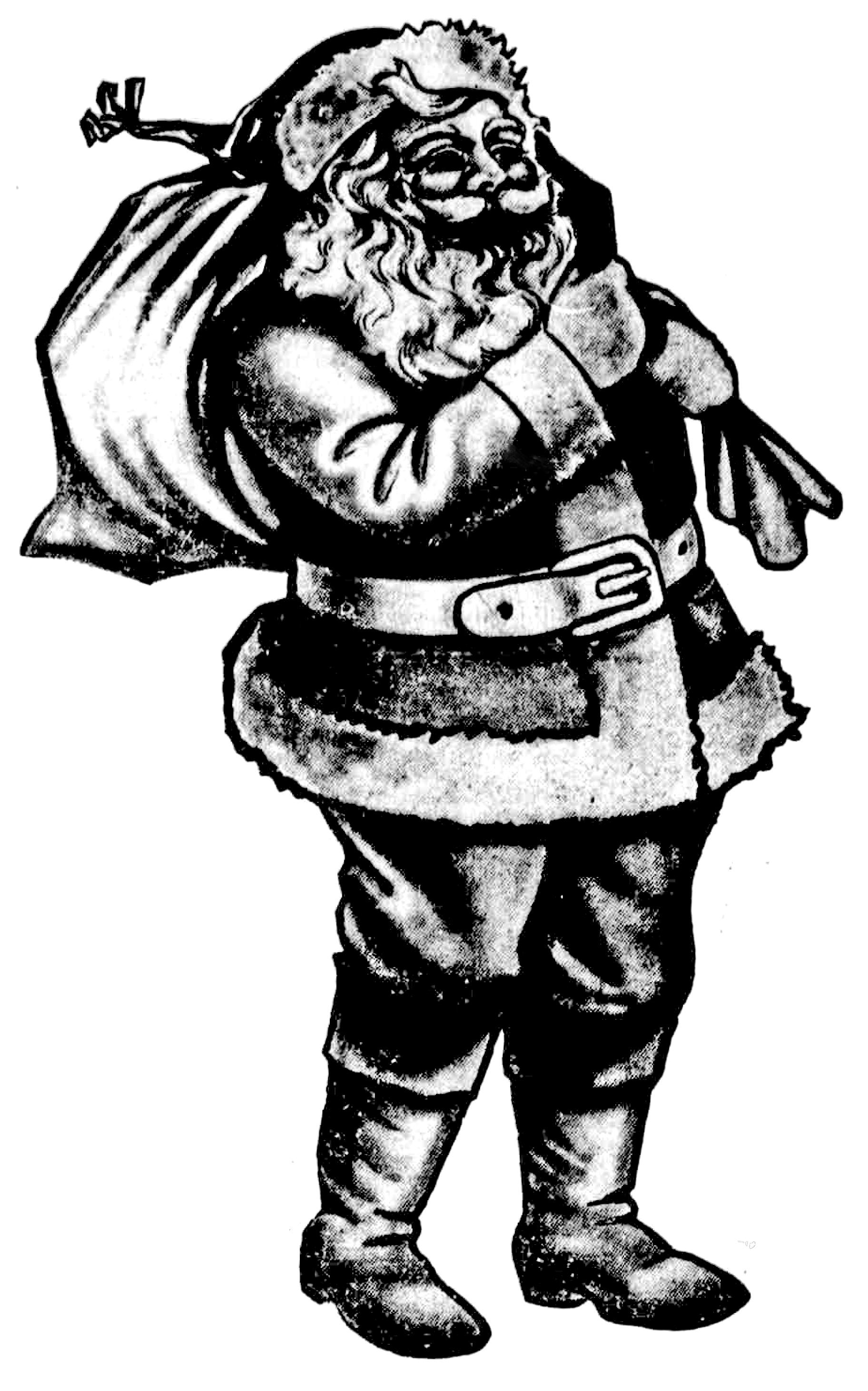 Idea clipart sketched. Christmas sketch free vintage