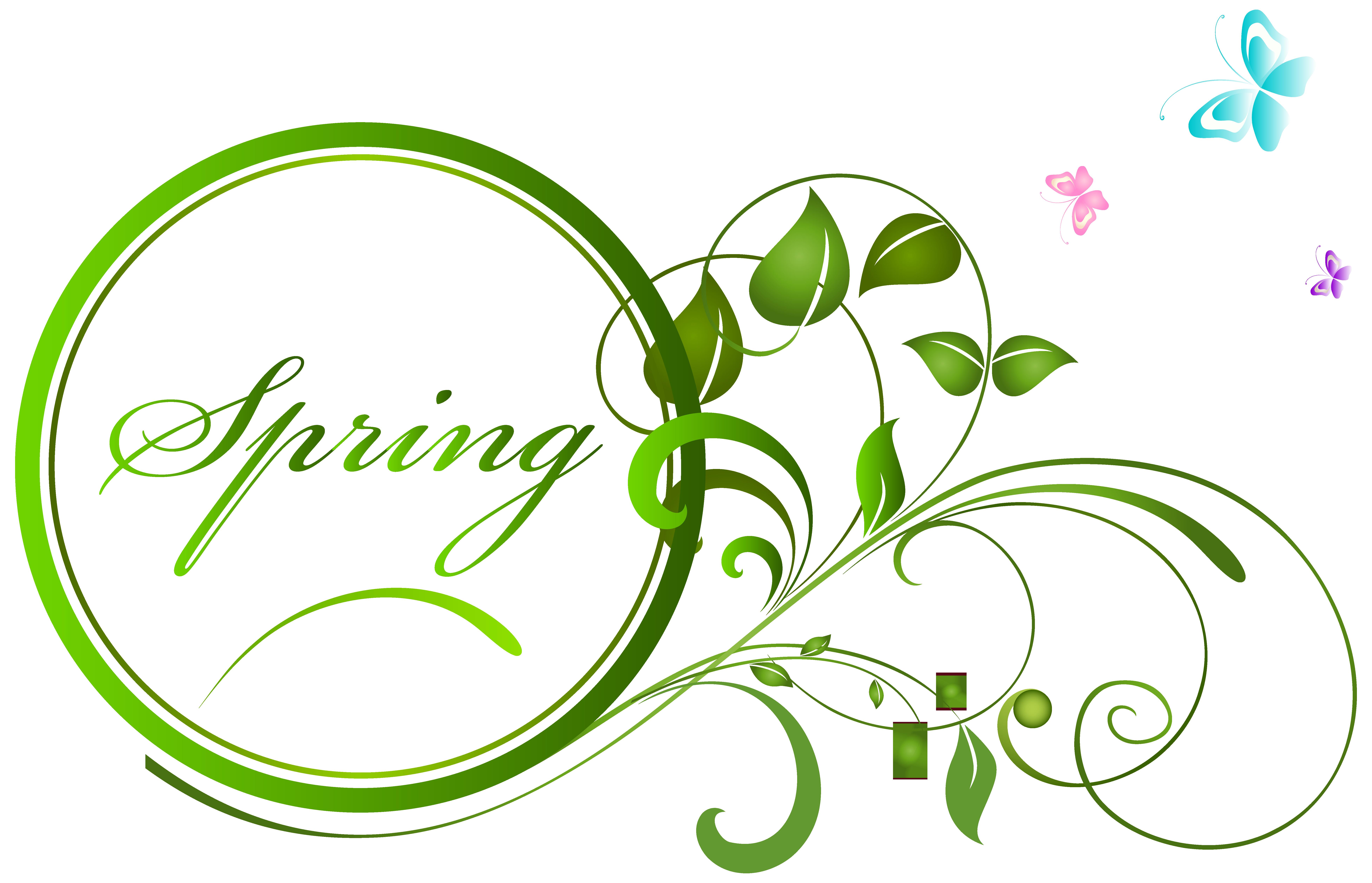 Clipart spring decoration. Transparent png clip art
