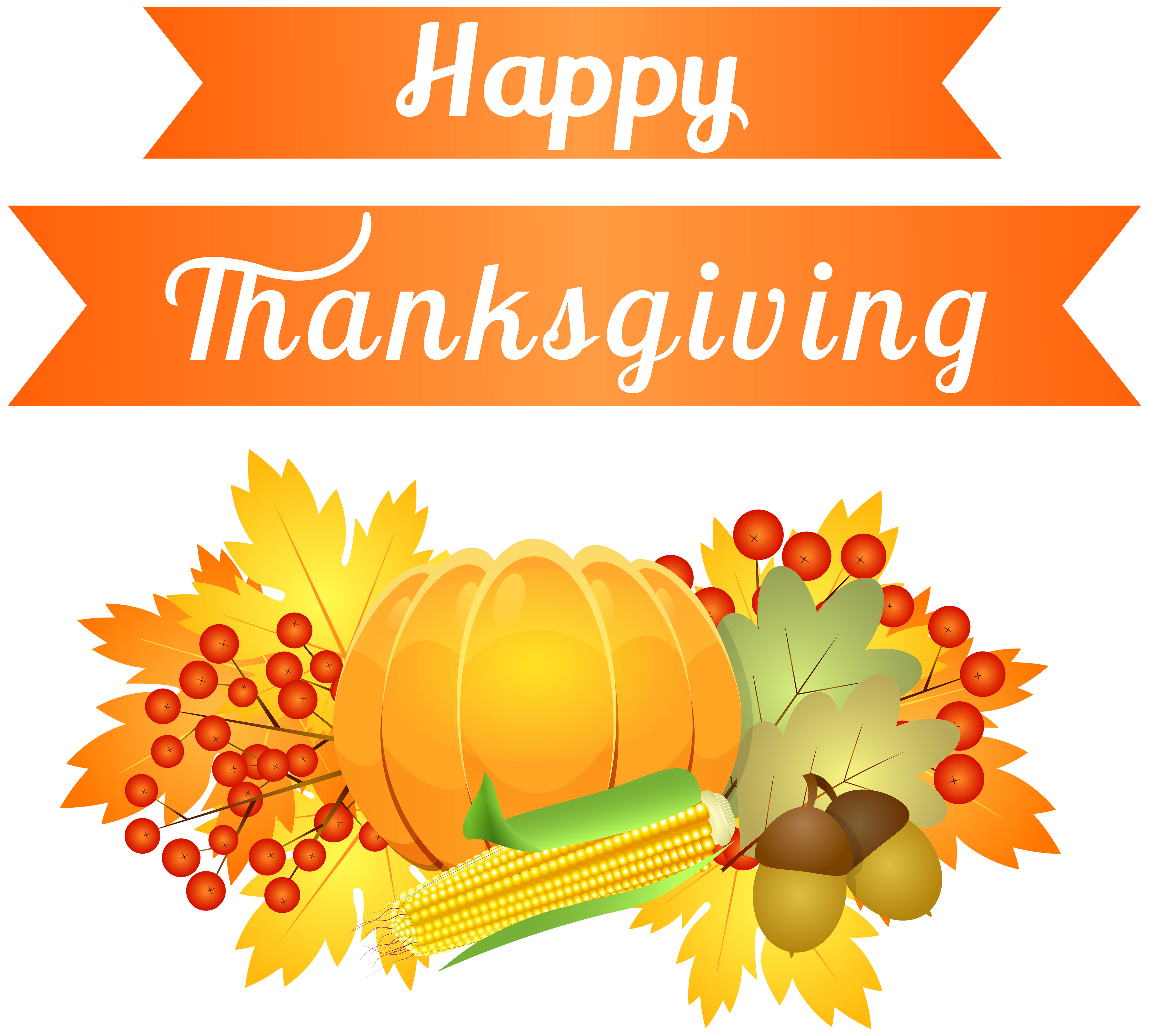 Happy decoration png image. Clipart calendar thanksgiving
