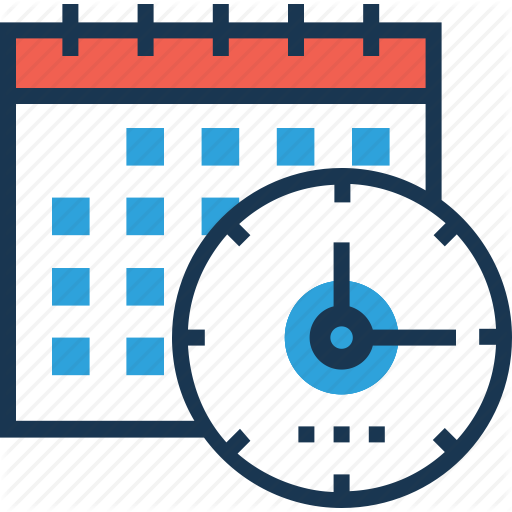 business and office. Clipart calendar time frame