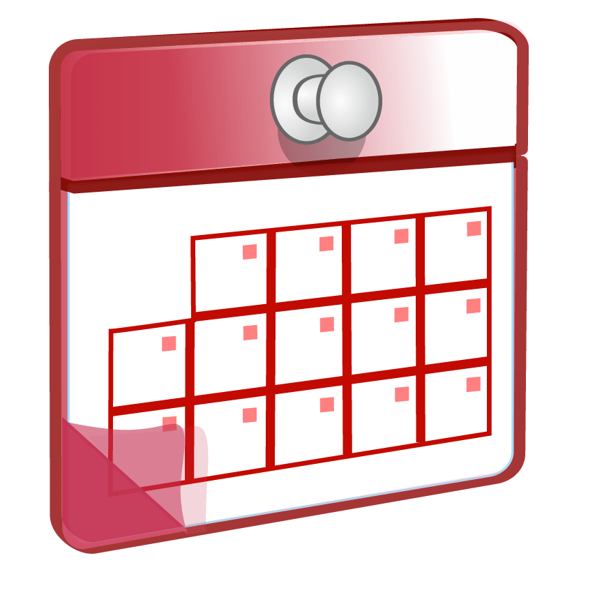 Schedule clipart wall calendar. Png photos
