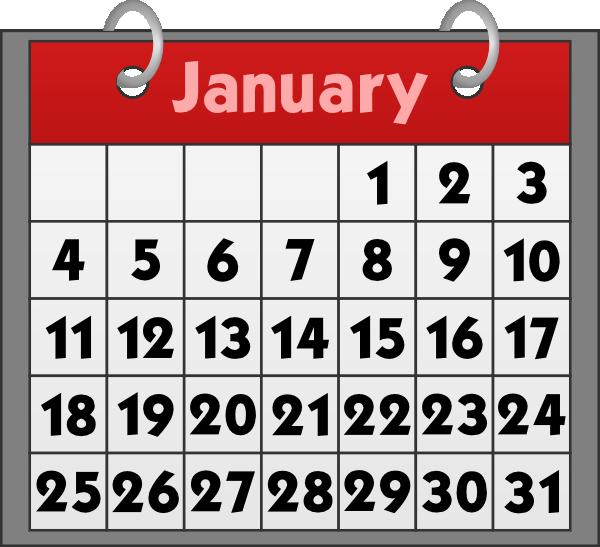 Schedule clipart wall calendar. Clip art on panda