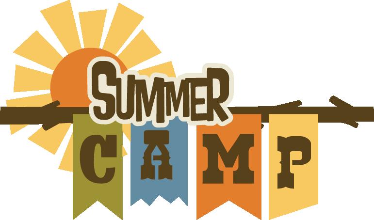 Summer camps cross crown. Clipart calendar weekday