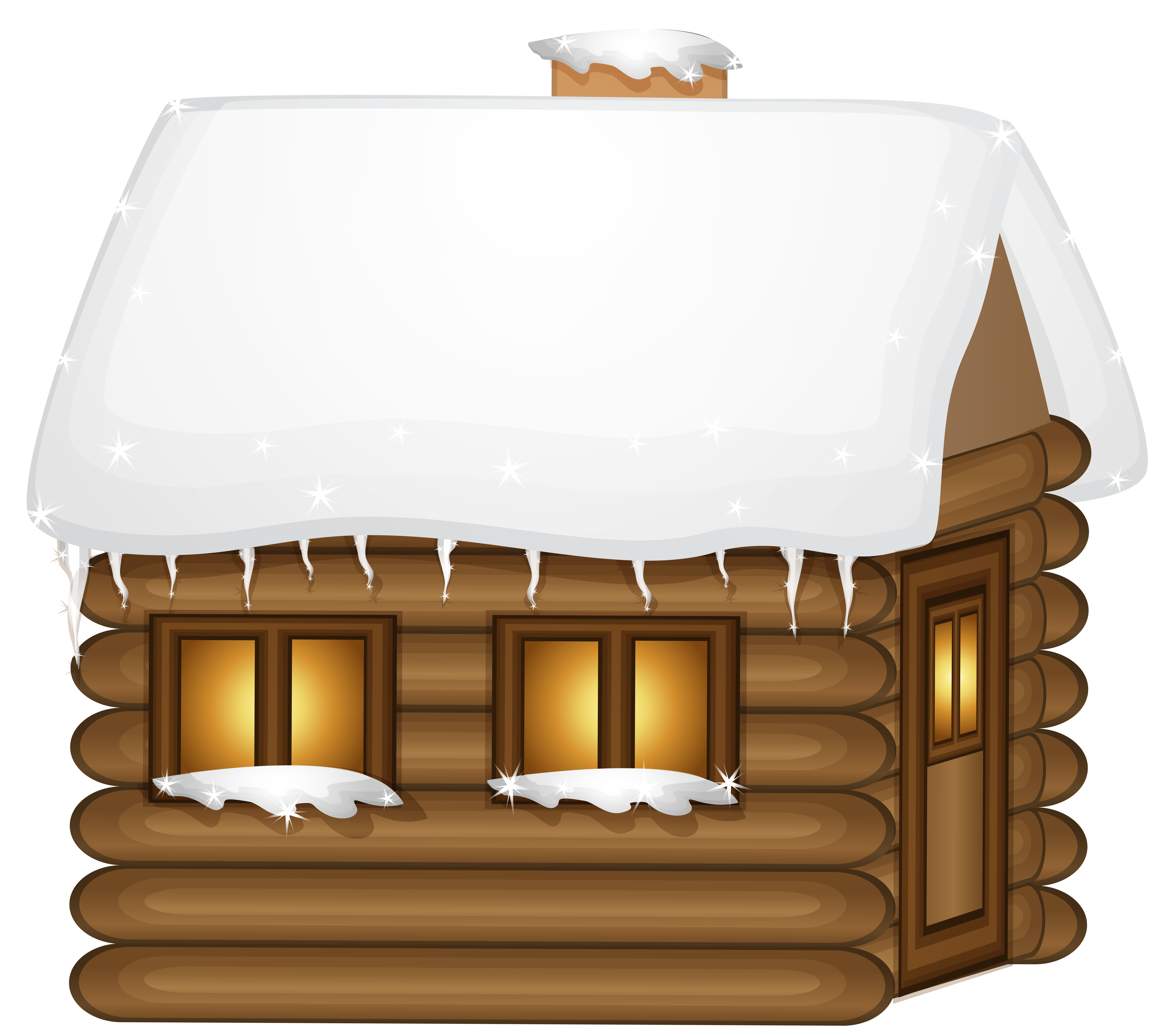 Wooden house png clip. Winter clipart travel