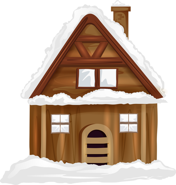 Winter clipart house. Transparent png image gallery